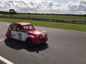Time for Snetterton and 24 hours of 2CV